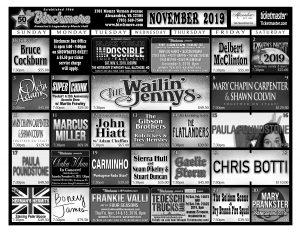 November 2019 - Click to enlarge