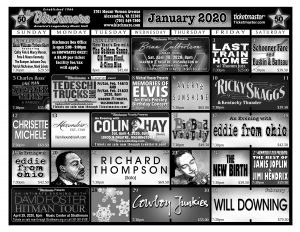 January 2020 - Click to enlarge