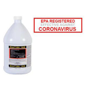 BioCide 100 Corona Virus Disinfectant Killer Sanitizer Epa Registered 300x300, The Birchmere