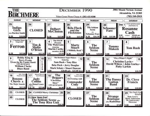 birchmere 1990